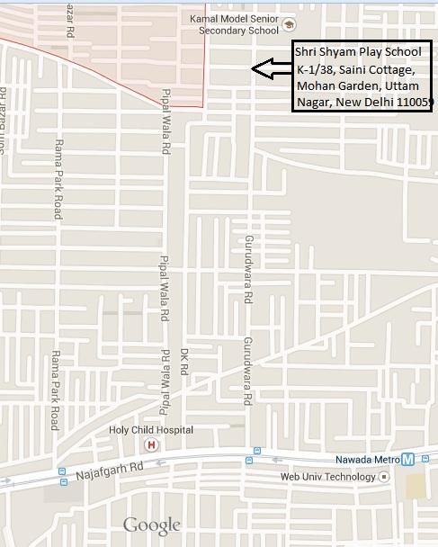 Shri Sham Map