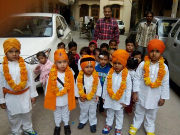 Gur Purab at Jack N Jill uttam Nagar